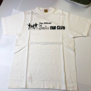 Human Made Beatles Fan Club Mens Small T-Shirt